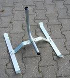 "Sproeislede 3/4"" buitendraad zwaar model gegalvaniseerd staal_9"