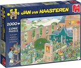 Jan van Haasteren puzzel de Kunstmarkt 2.000 stukjes_9