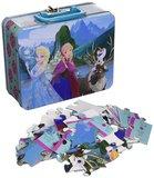 Disney Frozen metalen koffertje twee 3-D puzzels 48 stukjes_9