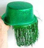 Hoge Hoed groen met nephaar_9