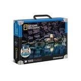Clementoni National Geographic puzzel 1000 stukjes IJsberen op een rots_9