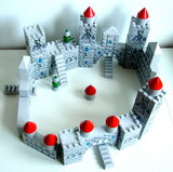 Houten kasteel blokkenset Charl's Toys_9