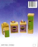 Houten keukensetje poppenhuis Charl's Toys_9