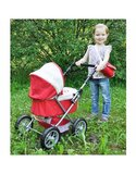 Knorrtoys poppenwagen rood/vanille_9