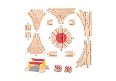 Woody uitbreidingsset treinbaan 91813