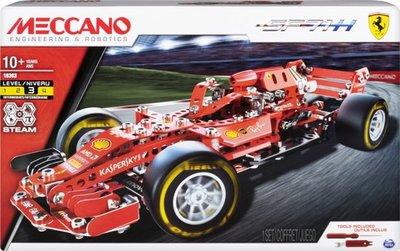 Meccano Ferrari F1 racer