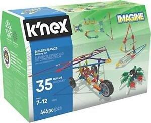 K'nex Imagine 35 modellen builder basics 446 stukjes