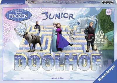 Disney Frozen Junior Doolhof Ravensburger