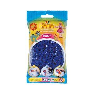 Strijkkralen Hama 1.000 stuks Donkerblauw 207-08