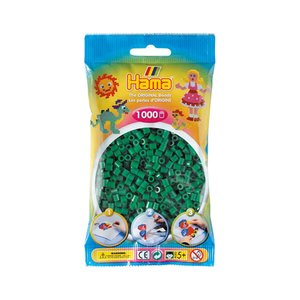 Strijkkralen Hama 1.000 stuks Groen 207-10