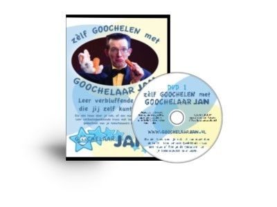 DVD Leer goochelen met Goochelaar Jan