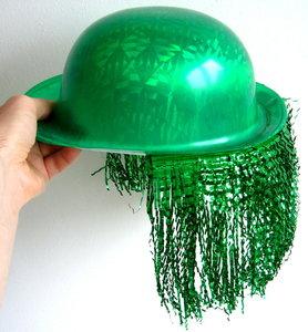 Bolhoed groen met nephaar