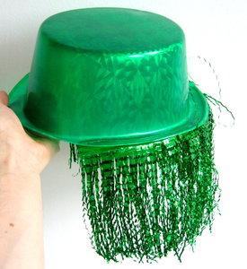 Hoge Hoed groen met nephaar