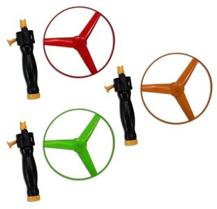 Vliegende schotel speelgoed 11cm