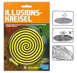 Illusieschijf Draaitol 5 optische illusies