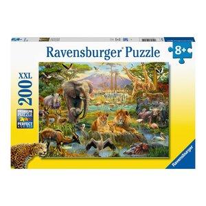 Ravensburger Dieren van de Savanne puzzel 200 stukjes XXL