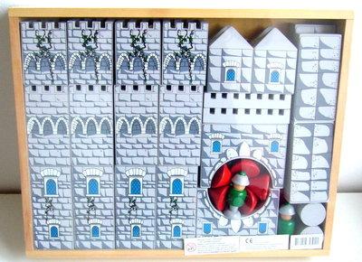 Houten kasteel blokkenset Charl's Toys