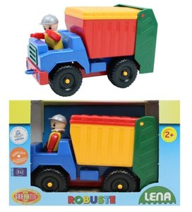 Lena Robuste Fahrzeuge Vuilniswagen