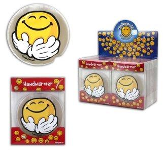 Handenwarmer Smiley