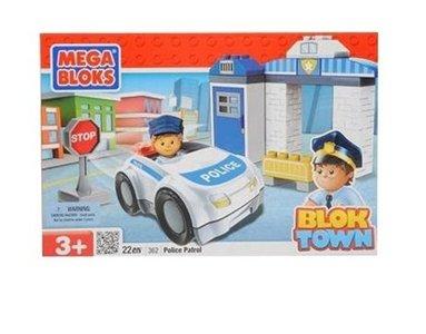 Megabloks Blok Town 362: Politiebureau 22 stenen