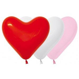 Sempertex Hart ballonnen - Helium kwaliteit! 30 centimeter