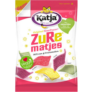 Katja zure matjes 4 fruitsmaken 500 gram
