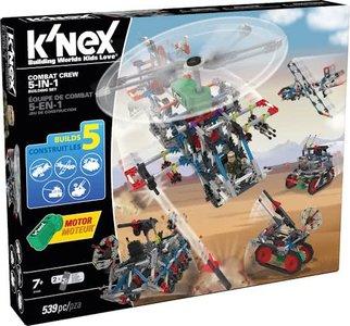 K'nex Combat Crew 5-in-1 Bouwset Knex