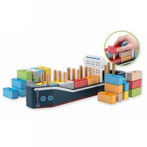 Containerschip Vormenstoof Joueco