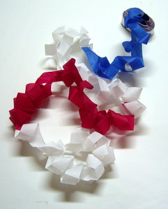 Mouth Coil 46ft. Patriotic National Flag