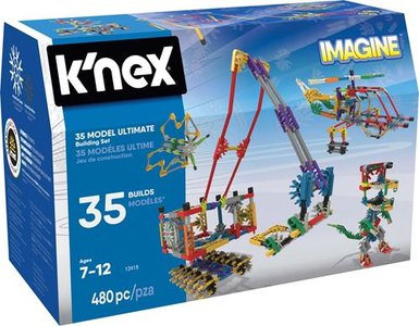 K'nex 35 modellen ultimate Knex 480 stukjes