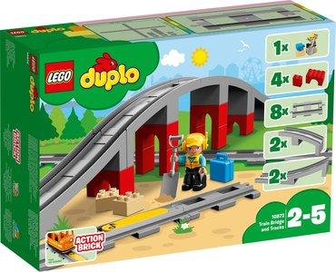 Lego Duplo 10872 Treinbrug en treinrails