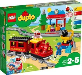 Lego Duplo 10874 Stoomlocomotief met rails