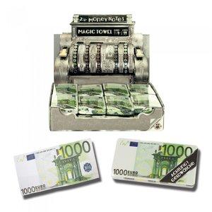 Magische handdoek 1000 euro