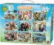 Animal-world-9-in-1-puzzelset